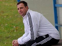 Trenér Spartaku Radek Hajič.