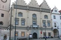 Stará radnice Tábora, národní kulturní památka na Žižkově náměstí.