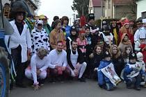 V sobotu 28. února si masopust užili ve Stádlci u Opařan.