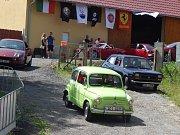 Sraz Fiatů v Jistebnici.