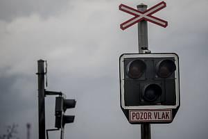 Železniční přejezd. (Ilustrační foto)