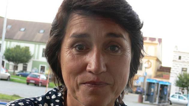 Lídr kandidátky Marie Hadravová.