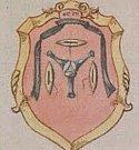 Erby táborských cechů na dokumentu z 19. století.