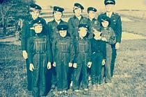 Dolnohořičtí mladí hasiči.