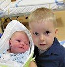 Sebastián Češek z Čekanic. Narodil se jako druhý syn v rodině 11. prosince 2018 v 19.28 hodin. Vážil 3230 gramů, měřil 51 cm a bráškovi Filipovi je tři a půl roku.