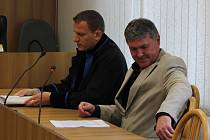 Zdeněk Šimeček u soudu.