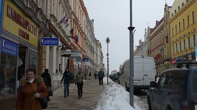 Prvním názvem táborské ulice bylo Nádražní třída.