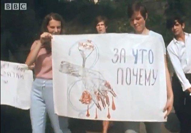 Zdokumenu BBC, který byl vroce 1968natáčen částečně také na Tachovsku.