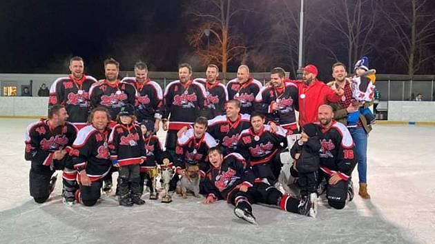 Vítězný tým Stříbrské NHL - HC Buldoci Stříbro B.