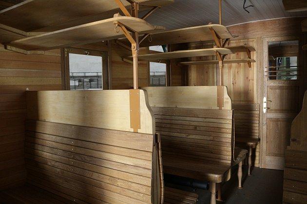 Historický vagon zKrasíkova poslouží jako exponát vLužné