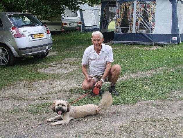 Holanďan Albert jezdí do Konstantinových Lázní, jak nám řekl, pravidelně od roku 1992