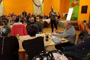 Setkání občanů v Těchlovicích.