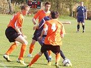 Fotbal: V dalším kole druhé třídy přišlo do ochozů 445 příznivců, padlo jen 23 branek.