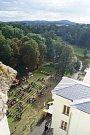 Město Bor během uplynulého víkendu žilo Zámeckými historickými slavnostmi.