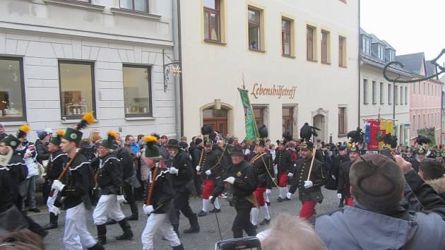 Hornická paráda Annaberg