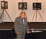 Vladimír Franc vystavuje v kladrubském muzeu.