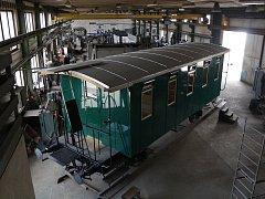 Historický vagon z Krasíkova poslouží jako exponát v Lužné