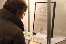 Muzeum vystavuje vzácné dokumenty