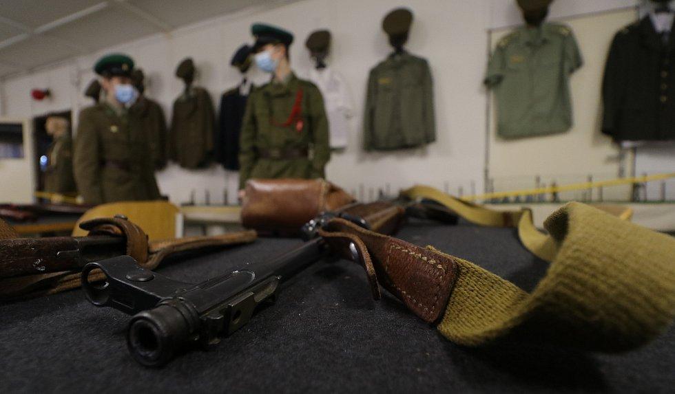 Z muzea Pohraniční stráže v Rozvadově.