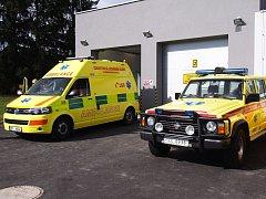 V pondělí bylo oficiálně otevřeno nové výjezdové centrum Zdravotnické záchranné služby ve Stříbře.