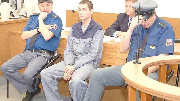 Obžalovaný Ivan Gomolák před tachovským okresním soudem