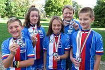 Cyklisté z Černošína přivezli 5. místo z ME.