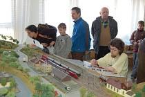 Výstava železničních modelů se konala o víkendu v Tachově.