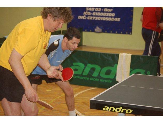Stolní tenis – play–off kr. soutěže II. třídy