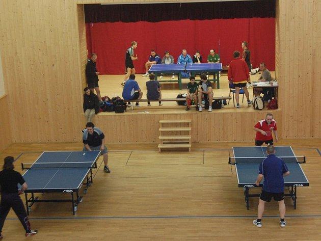 Sedmadvacet hráčů ze šesti oddílů se zúčastnilo v sobotu Okresního přeboru jednotlivců ve stolním tenisu