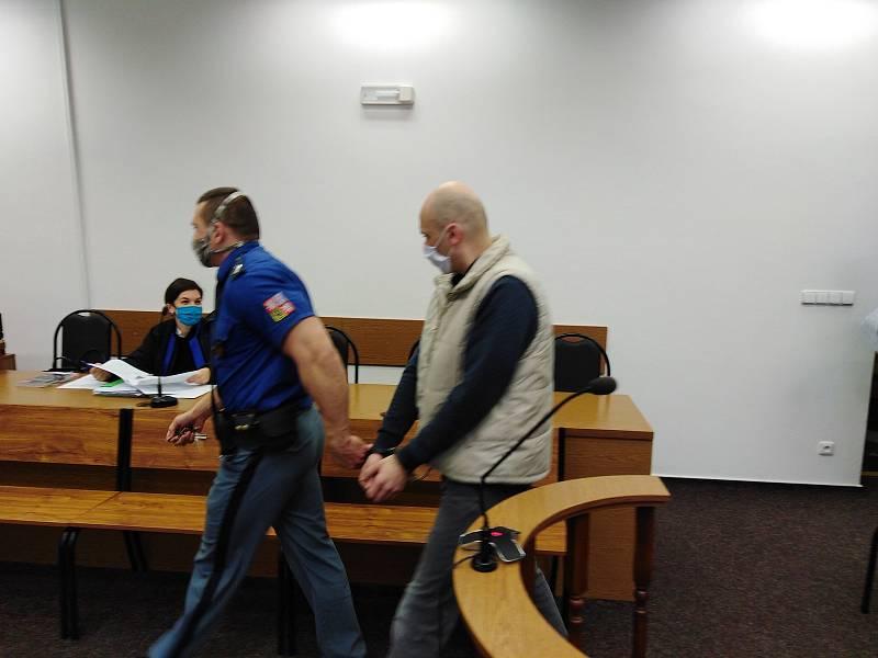 Adrian Babusca u tachovského soudu.