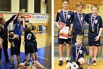 Mladí stříbrští nohejbalisté kralovali v konkurenci 12 týmů na šampionátu v Karlových Varech.