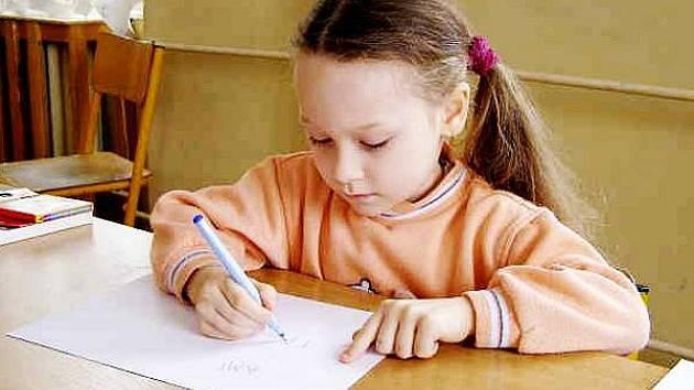 76e9a52c7e Naučit se psát bude možná pro prvňáčky jednodušší - Tachovský deník