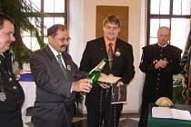 Horníci ze Stříbra pokřtili knihu Karla Neubergera