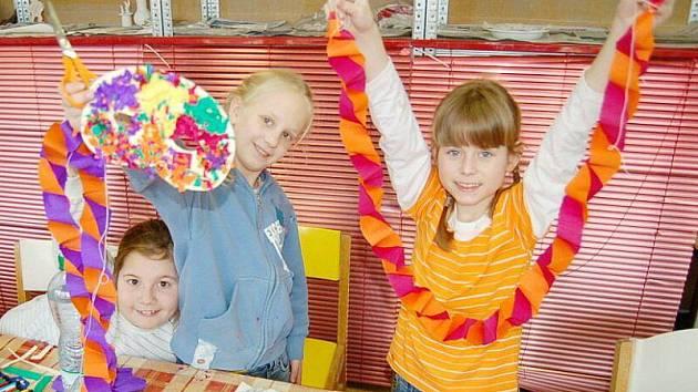 Tachov – Zajímavý den prožily včera děti, které se jej rozhodly strávit v tachovském domě dětí Mraveniště.