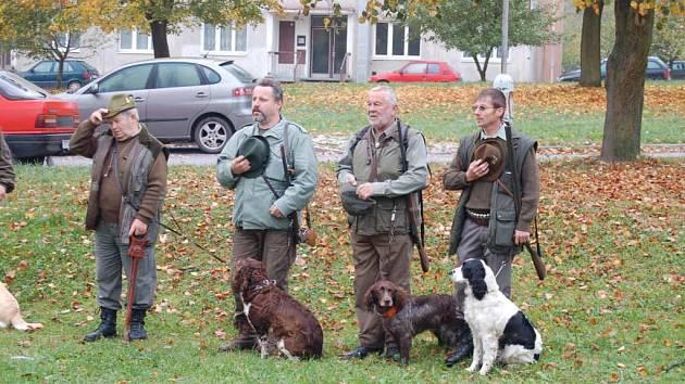 Podzimní zkoužky psů v Neblažově.