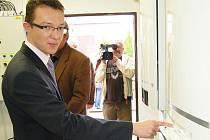 Lukáš Bardon představil novou kotelnu