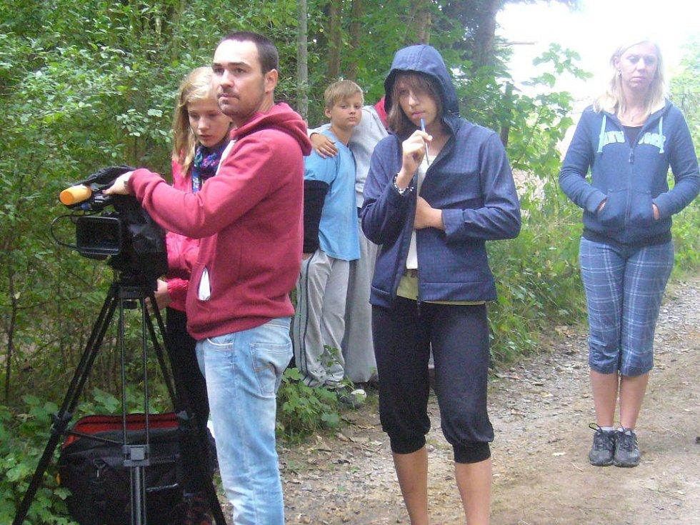 Z dětského filmového tábora na Butově