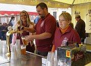 Stříbrské pivní slavnosti nabídly návštevníkům nejen pivo, ale také hudbu, občerstvení a zábavu pro děti.