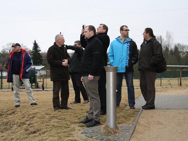 STAROSTOVÉ Loučovic Jan Kubík a Nové Pece Jakub Koželuh si ve středu v Tachově mimo jiné prohlédli i tachovskou Rychtu, ve které je umístěno zázemí pro sportovce a střelnice.