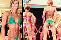 Fyzická přitažlivost, fotogeničnost, zdravá a opálená pokožka a celkový kosmetický vzhled jsou jedny z kritérií, jež hodnotí porota při soutěži Bikini fitness, které se věnuje Jana Palečková (v zelených plavkách).