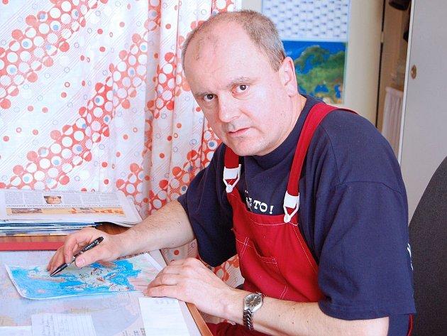 Vladimír Pintíř učí na Zárečné v Tachově už 26 let.