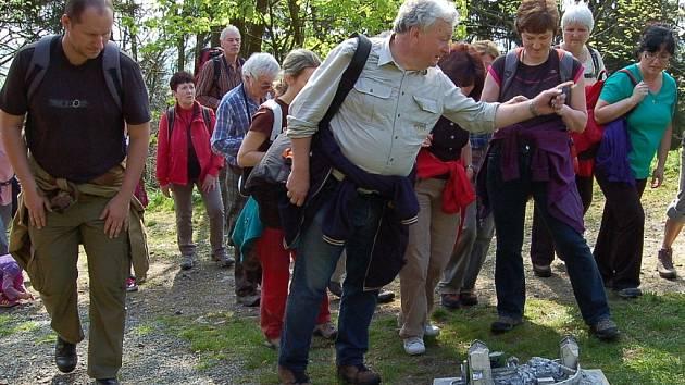 Na Tachovsko se Evžen Kůs (uprostřed) vrací i jako průvodce krajinou v okolí Přimdy.
