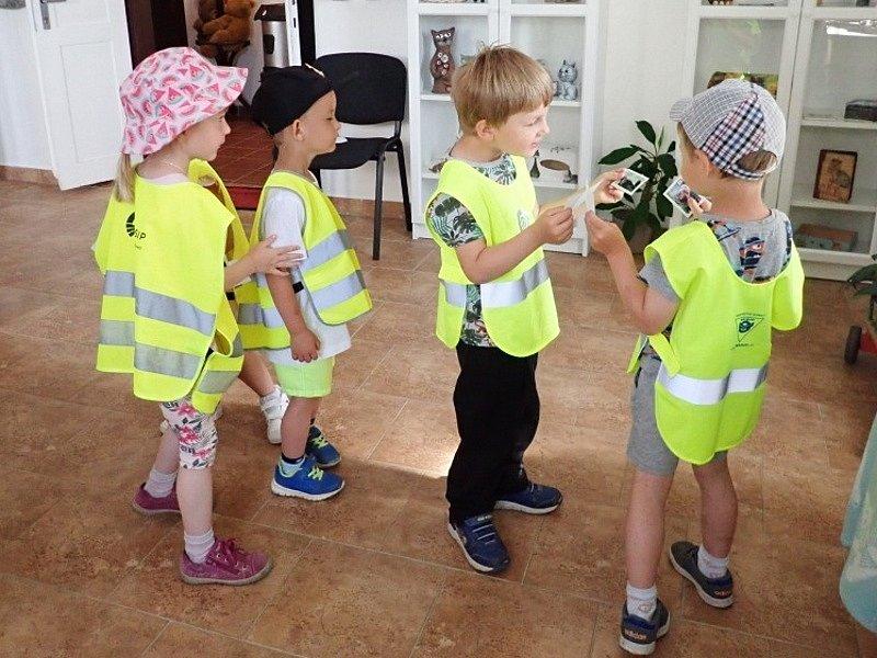 Návštěva černošínské školky na Kočičí výstavě.