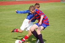 Mladí fotbalisté FK Tachov dokázali na domácím hřišti porazit Junior Praha 2:1