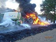 Pondělní požáry na Tachovsku.
