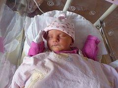 Maminka Jana Dubovecká a tatínek Petr Smetana z Tachova se radují z narození Elišky (3,12 kg, 49 cm). Jejich prvorozená dcera přišla na svět 12. září v 10:59 v plzeňské fakultní nemocnici.