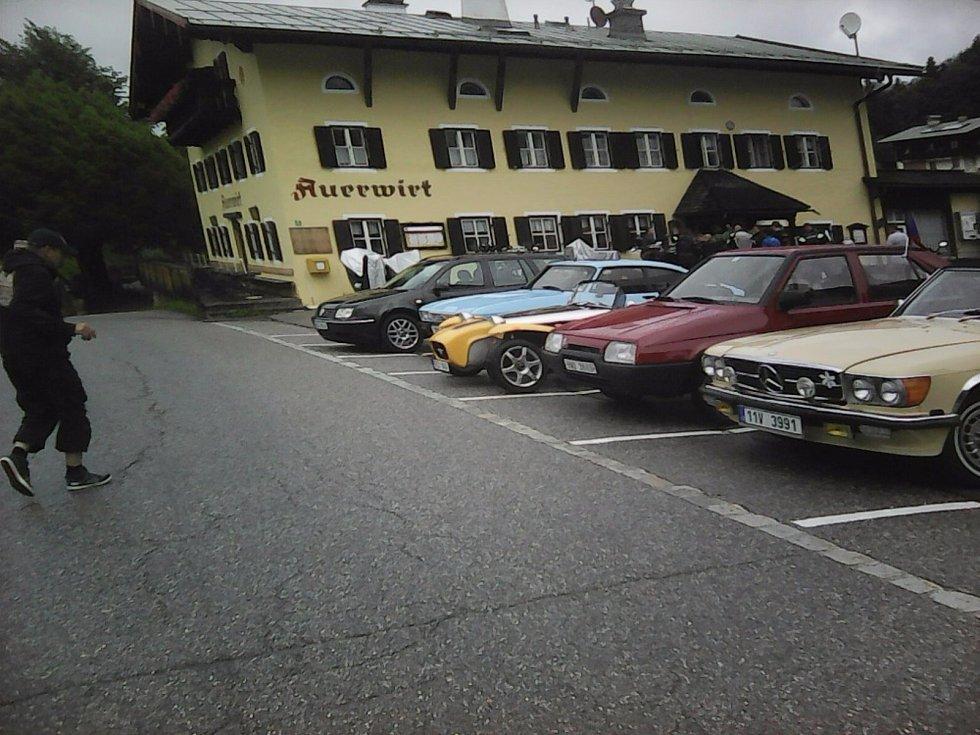 Veterány se vrátily z Alp na Tachovsko.