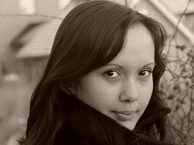 Zuzana Radičová na vlastním autoportrétu.