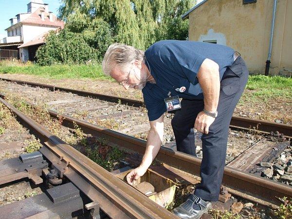 SJiřím Bízkem jsme se vypravili na železničí šichtu.