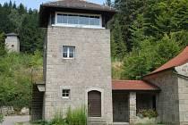 Památník, tábor Flossenbürg